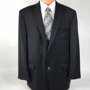 Calvin Klein Men's 46L 2 Button Wool Suit Jacket